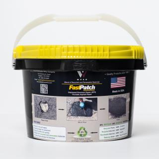 FASTPATCH DPR Pourable Asphalt Repair 3-Gal Kit 1